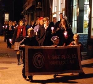 Candlelit walk through town 2009