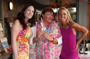 Susan, Rosemary & Elin at Pink and Violet-2012