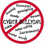 rumors, testing, gossiping, threats, name-calling, harassment, mean words, lies