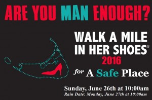 3rd Annual Walk a Mile in Her Shoes