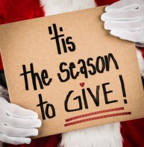 Tis the season to give