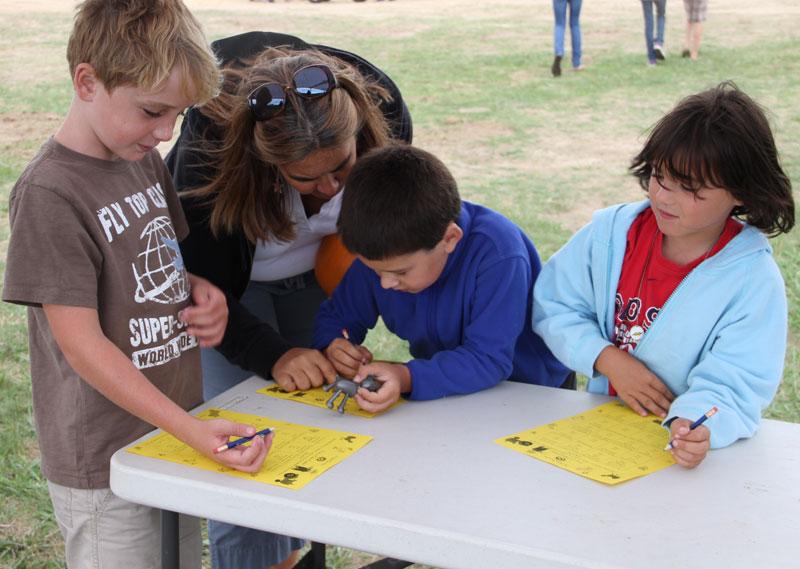 Community members playing Social Bingo
