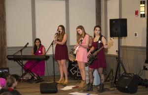 Girl Band at One Billion Rising Event